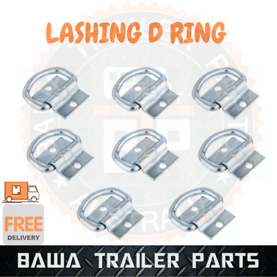 AU32.95 • Buy 8 X LASHING D RING TIE DOWN ANCHOR POINT ! - TRAILER TRUCK TOOLBOX UTE TRAY !