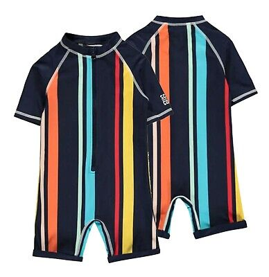 £6.99 • Buy Boys SoulCal All In One Stylish Crew Casual Swimsuit Sizes Age From 2 To 7 Yrs