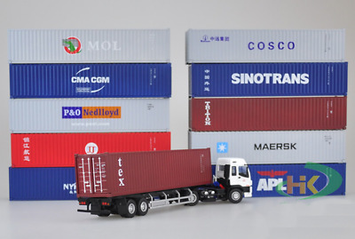 1:50 Transport Container Model K Line Cosco International Shipping Freight Toy   • 30.99£