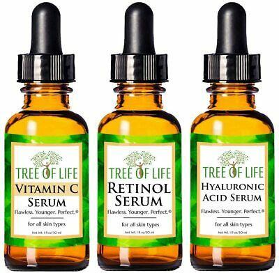 AU39.99 • Buy Anti Aging Serum Combo Pack - Vitamin C Serum - Retinol Serum - Hyaluronic Acid