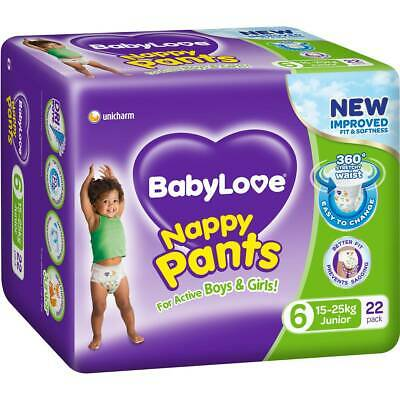 AU75.56 • Buy Babylove Nappy Pant Junior 22 Carton 3