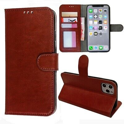 AU7.99 • Buy IPhone 5 6 6s Plus Flip Leather Wallet Case With Card Holder