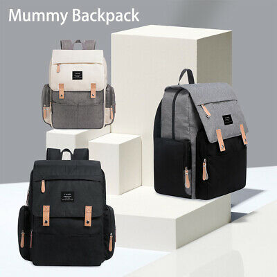 AU26.50 • Buy Multifunctional Waterproof  Baby Diaper Nappy Backpack Mummy Changing Bag AU