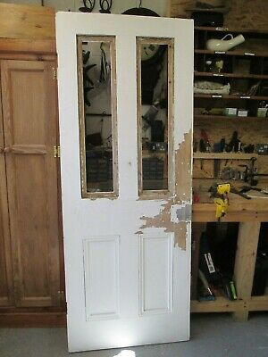Victorian Interior Wooden Door Toughened Glass/beading Included But Seperate • 49£