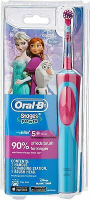AU49 • Buy Oral-B Stages Power Kids Electric Toothbrush, Frozen FAST SHIPPING