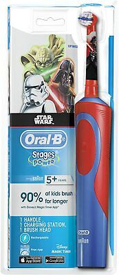 AU30.20 • Buy Oral-B Stages Power Kids Electric Toothbrush, Disney Star Wars FAST SHIPPING