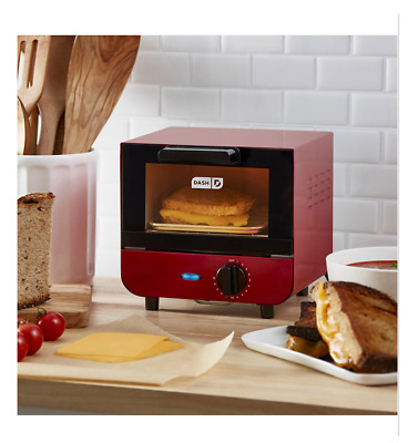 NEW MINI Compact Toaster Oven Bread Bagels Cookies Pizza 550 Watt Auto Shut Off • 39.45£
