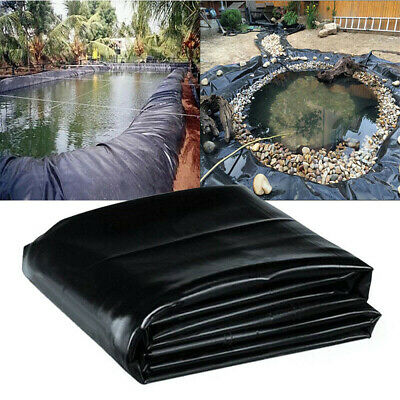 Fish Pond Liner Pools Garden HDPE Membrane Reinforced Guaranty Landscaping 2M~ • 20.85£