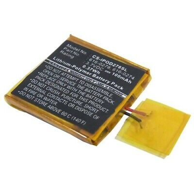 Battery For APPLE IPOD Shuffle G3 • 11.84£
