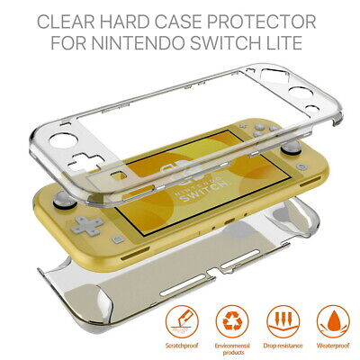AU11.32 • Buy For Nintendo Switch Lite Transparent Clear Shockproof Protective Hard Case Cover