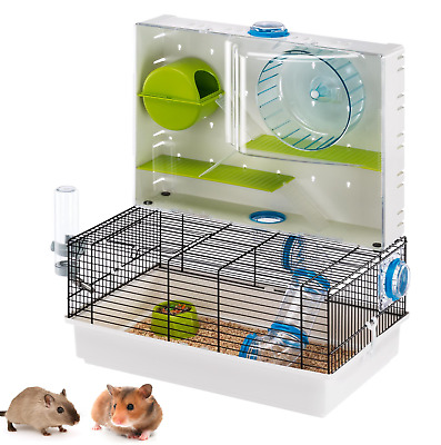 Heritage Double 2-Tier Hamster Cage Pet Gerbil Mouse Tubes Small Rodent Animal  • 39.95£