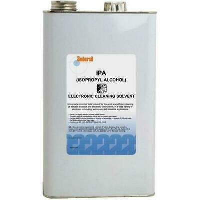 AU132.17 • Buy 5 Litre Ambersil Isopropyl 95% Alcohol Cleaning Solvent IPA 31716
