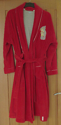 RED VELOUR DRESSING GOWN By M&S • 9.99£