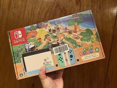 $ CDN919.61 • Buy New Nintendo Switch Animal Crossing Edition Japanese Import US Seller