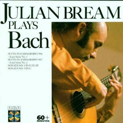 Various Artists : Bream Plays Bach Lute Works CD Expertly Refurbished Product • 3.50£