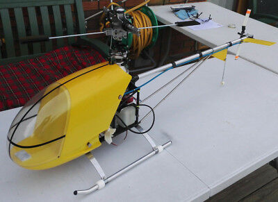 Vintage KKK Stunt Homer RC Helicopter Must See Very Rare • 850£