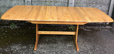 Outstanding Large Modern Ercol  Windsor Extending Table Delivery Available      • 625£