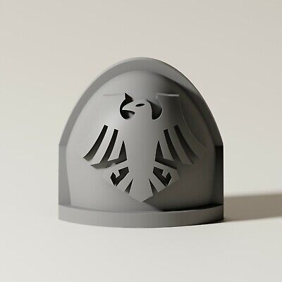 40K - Raven Guard - Reiver/Phobos Space Marine Shoulder Pads X10 • 3.99£