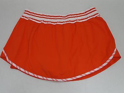$ CDN154.16 • Buy NEW LULULEMON Run Track Attack Skirt Love Red Twin Stripe Size 10 NWOT