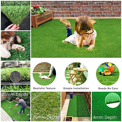 £14.95 • Buy 1m - 2m Wide Astro Turf | Affordable Artificial Grass | Quality All Year Garden