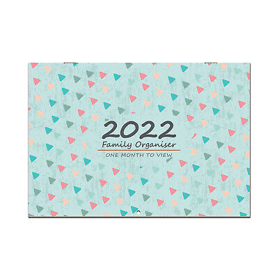 £9.99 • Buy Family Planner 2021 - 2022 Month-to-View Wall Calendar 17 Month, School Collage