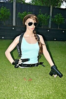 Mannequin In The Style Of Lara Croft Tomb Raider Life Size • 69.99£