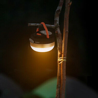 £7.99 • Buy 2-In-1 Rechargeable Camping Lantern & Power Bank Charger Outdoor Tent Light Lamp