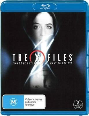 AU18.84 • Buy The X-Files: Double Feature Pack (Fight The Future / I  - BLU-RAY - NEW Region B