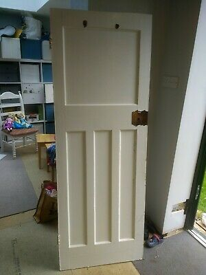 Vintage Interior Wooden Door • 15£