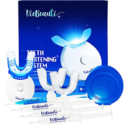 $48.57 • Buy VieBeauti Premium Teeth Whitening Kit With LED Light, HISMILE, At-Home System Or