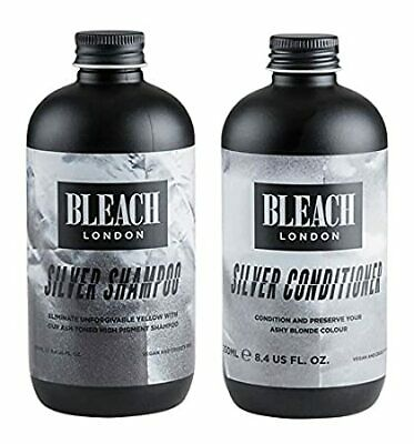 £18.95 • Buy Bleach London Silver Shampoo AND Conditioner 250ml FAST DELIVERY