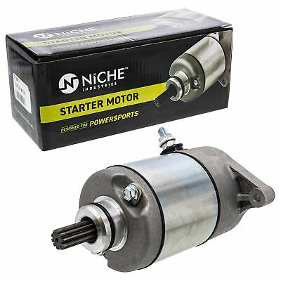 $61.95 • Buy NICHE Starter Motor Assembly For Arctic Cat 400 Suzuki Eiger KingQuad 400