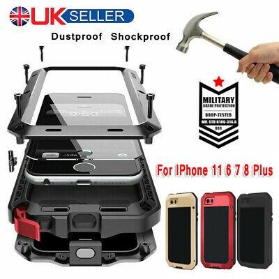 Shockproof Heavy Duty Tough Armour Case Cover For Apple Iphone 11 Xr 8 7 6 Plus • 11.49£