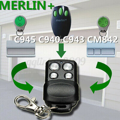 AU14.85 • Buy For Merlin+ C945 CM842 C940 C943 MR850 MR1000 MT60 MT230 Garage Remote Control