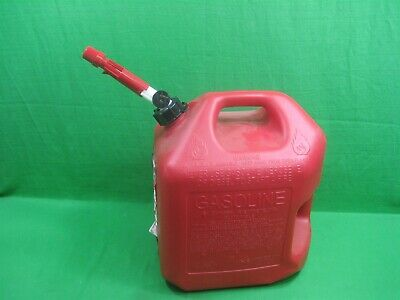 $ CDN23.74 • Buy Midwest 5 Gallon Red Plastic EPA Compliant Gas Can ~ Model 5600 ~ USA