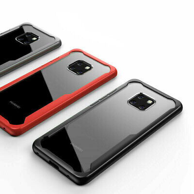 Case For Huawei P30 P20 Mate 20 / Pro / Lite Bumper Shockproof Protective Cover • 2.99£