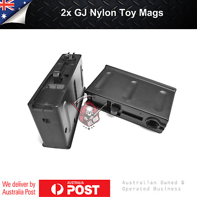 AU20.95 • Buy 2x GJ AWM/M24/98K Nylon Magazine Mag Replacement Gel Blaster 7-8mm Accessories