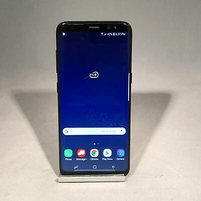 $ CDN161.97 • Buy Samsung Galaxy S8 64GB Midnight Black Verizon Unlocked Fair Condition