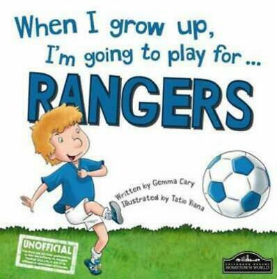 £3.28 • Buy When I Grow Up, I'm Going To Play For ... Rangers By Gemma Cary (Hardback)
