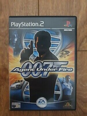 James Bond 007 Agent Under Fire Ps2 Game • 3.99£