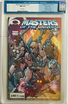 $99.99 • Buy Masters Of The Universe 1 JSC Variant He-Man Invincible Preview MOTU CGC 9.6 NM+