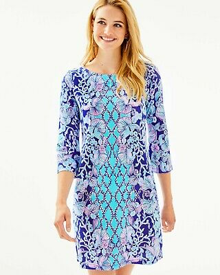 $64.99 • Buy Lilly Pulitzer Bay Dress,  Engineered Print, Size S, L, XL