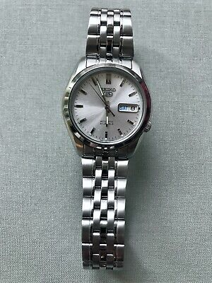 $ CDN180 • Buy Seiko SNK355 Rolex Oyster Perpetual Automatic Silver Stainless Steel Watch Mens