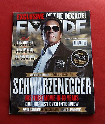 EMPIRE Magazine Issue 281 - November 2012 - Arnold Schwarzenegger - Terminator • 8.49£