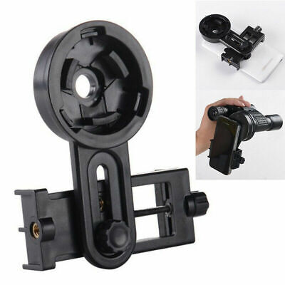 Universal Mobile Phone Holder Mount Adapter Bracket For Telescope Spotting Scope • 5.99£