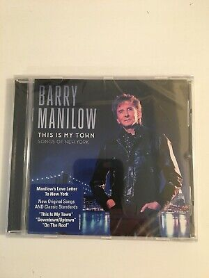 Barry Manilow - This Is My Town: Songs Of New York (CD, 2017) - NEW & SEALED • 9.41£