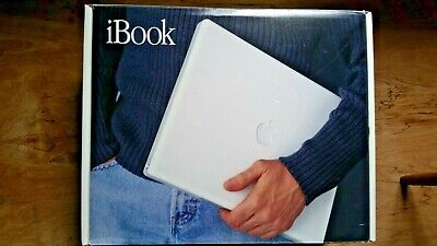 $ CDN299.97 • Buy Ibook G3 Macintosh Apple Laptop With Box, Packaging And Replacement Battery