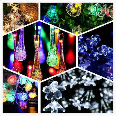 $5.02 • Buy 20 LED Xmas String Fairy Lights Waterproof Outdoor / Indoor Party Decoration USA