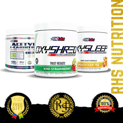 AU149.95 • Buy EHPLabs Day And Night Weight Management Stack Oxyshred Oxysleep L-Carnitine