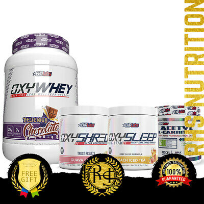 AU189.95 • Buy EHPLabs Weight Management Essentials Stack Oxywhey Oxyshred Oxysleep L-Carnitine